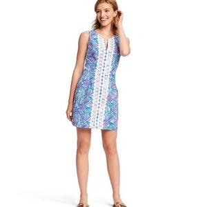 Lilly Pulitzer 'My Fans' Cotton Shift Dress